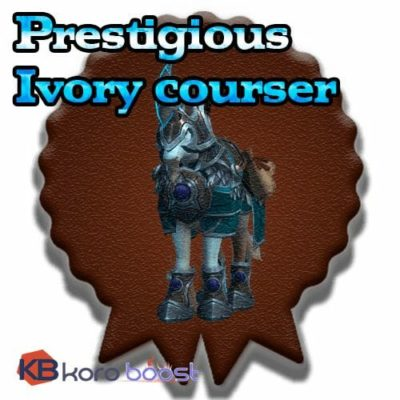 Buy Prestigious Ivory Courser cheap boost service or carry run