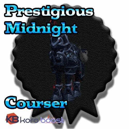 Prestigious Midnight Courser