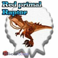 Red Primal Raptor