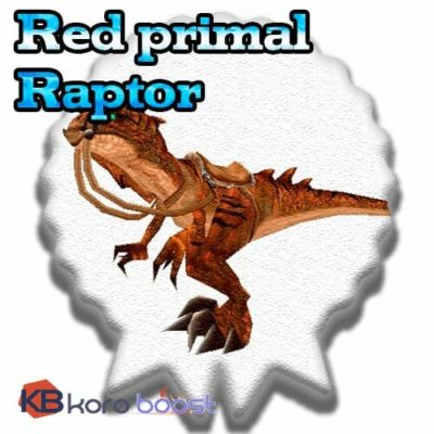 Buy Red Primal Raptor cheap boost service or carry run