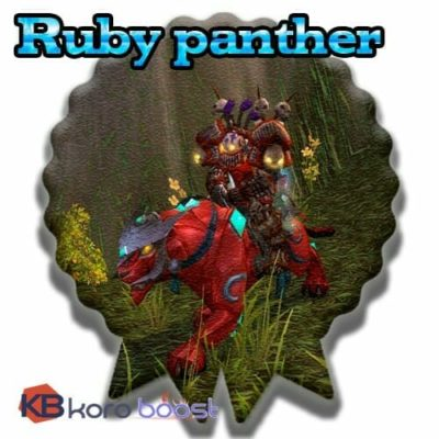 Buy Ruby Panther cheap boost service or carry run
