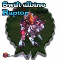 Swift Albino Raptor