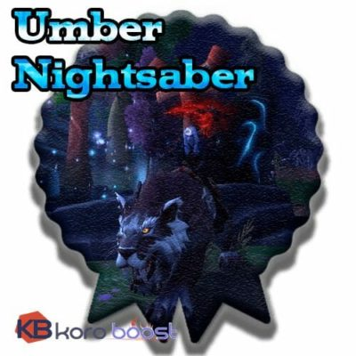 Buy Umber Nightsaber cheap boost service or carry run