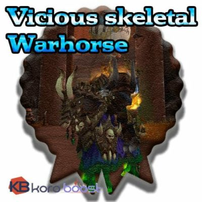 Buy Vicious Skeletal Warhorse cheap boost service or carry run