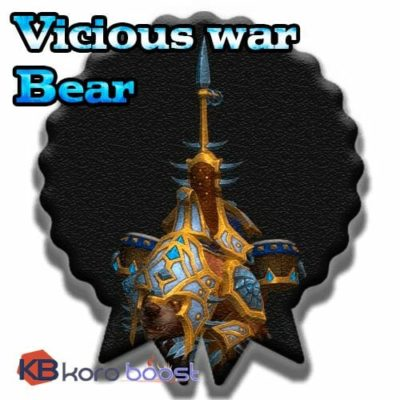 Buy Vicious War Bear cheap boost service or carry run