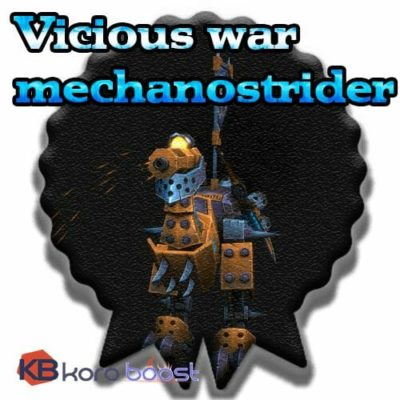 Buy Vicious War Mechanostrider cheap boost service or carry run