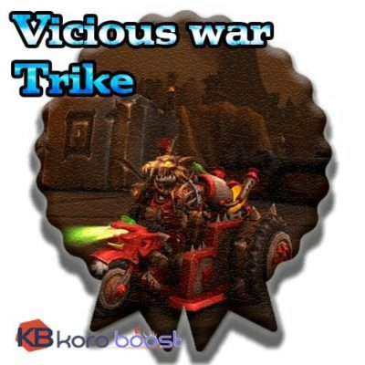 Buy Vicious War Trike cheap boost service or carry run