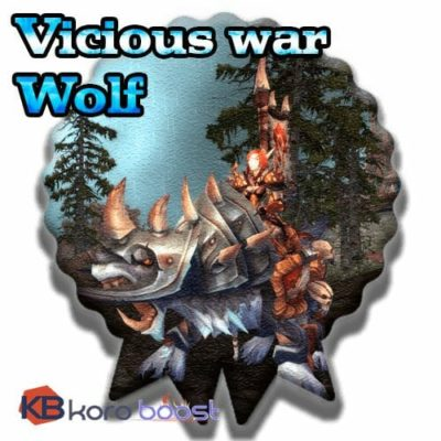 Buy Vicious War Wolf cheap boost service or carry run