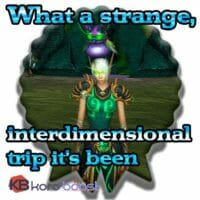What A Strange, Interdimensional Trip It's Been