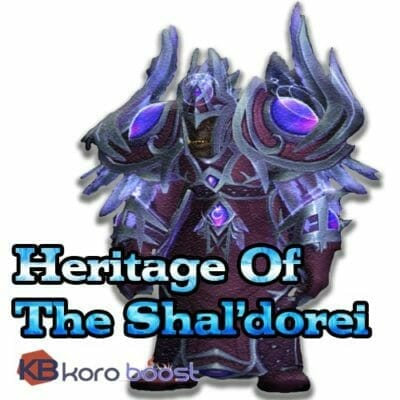 buy-Nightborne-Heritage-Armor-Boost---Heritage-Of-The-Shal'dorei cheap boost service or carry run