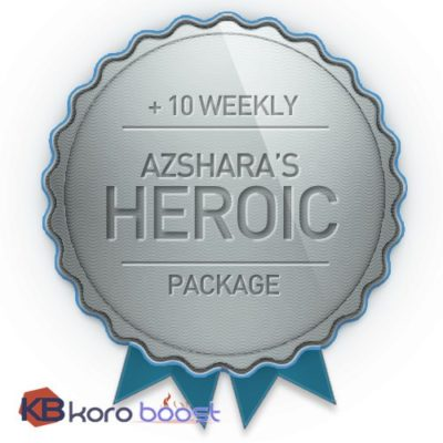 Buy Azshara's Eternal Heroic + 10 weekly Chest Bundle cheap boost service or carry run