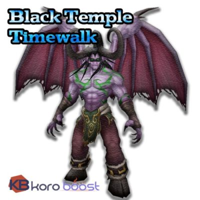 Buy Black-Temple-Timewalking cheap boost service or carry run