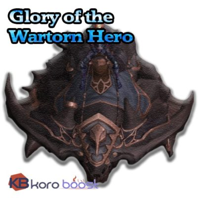Buy-Glory-of-the-Wartorn-Hero cheap boost service or carry run