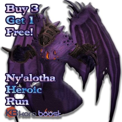 Buy Three Nyalotha And Get One Free cheap boost service or carry run