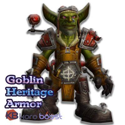 Buy Goblin Heritage Armor cheap boost service or carry run