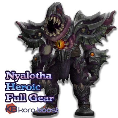 Buy Nyalotha The Waking City Heroic Full Gear cheap boost service or carry run