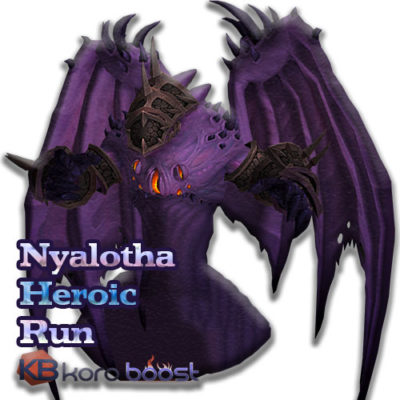 Buy Nyalotha The Waking City Heroic Run cheap boost service or carry run