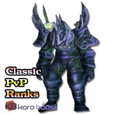 Buy World of WarCraft- Classic – PvP Rank Title Boost cheap boost service or carry run