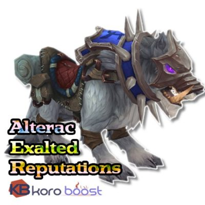 Buy World of WarCraft- Classic - Alterac Valley Exalted Reputation cheap boost service or carry run