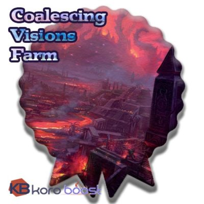 buy Coalescing Visions farm boost cheap boost service or carry run