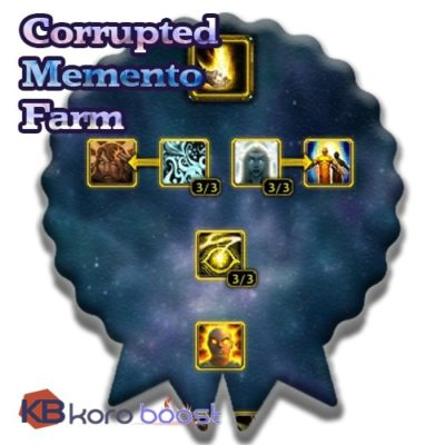 buy Corrupted Memento Farm cheap boost service or carry run