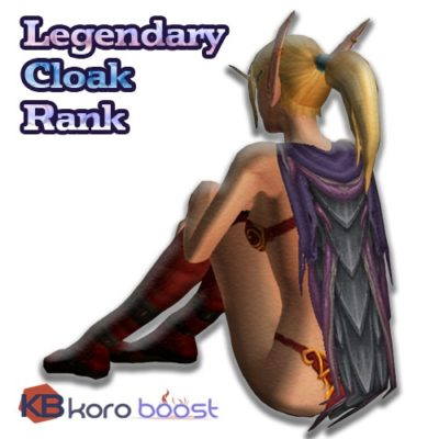 buy Legendary Cloak Rank cheap boost service or carry run