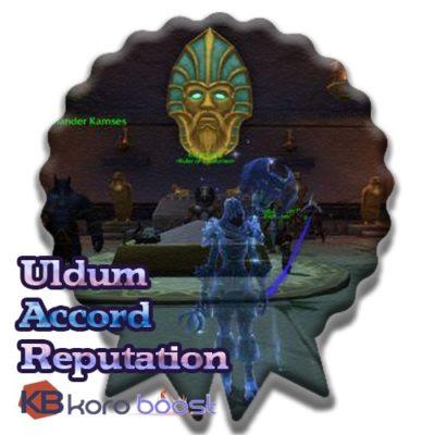 buy Uldum Accord Reputation Farm Boost cheap boost service or carry run