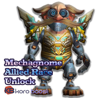 Buy Mechagnome Allied Race Unlock cheap boost service or carry run
