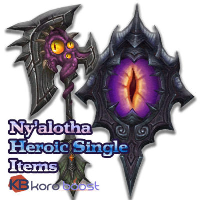 Buy Nyalotha The Waking City Heroic Single Items cheap boost service or carry run