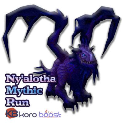 Buy Nyalotha The Waking City Mythic Run cheap boost service or carry run