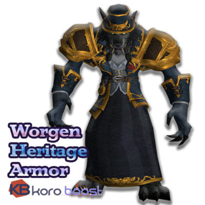 Buy Worgen Heritage Armor cheap boost service or carry run
