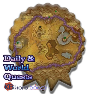 buy bfa daily and world quests farm cheap boost service or carry run