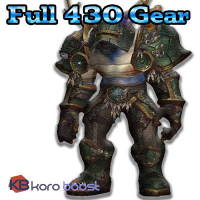buy full 430 gear cheap boost service or carry run
