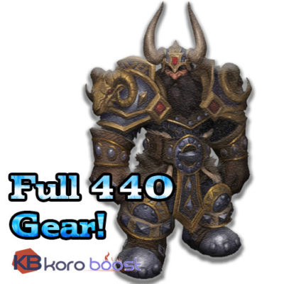 buy full 440 gear boost wow cheap boost service or carry run