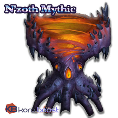 Buy WoW N'zoth The Corruptor Mythic Kill Boost Service cheap boost service or carry run